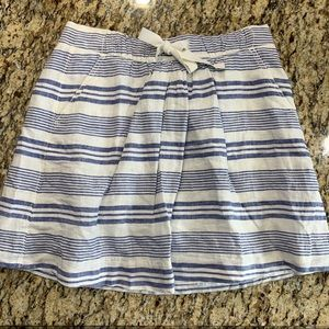 J. CREW Linen Skirt Size 4 NEW WITH TAGS